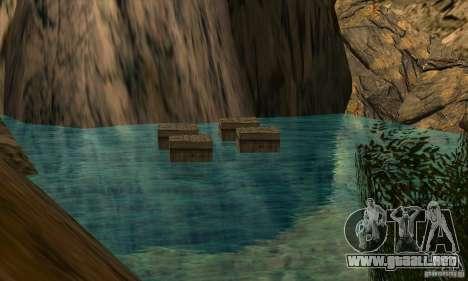 Travesía v1.0 para GTA San Andreas quinta pantalla