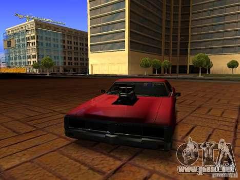 Charger Sabre para la visión correcta GTA San Andreas