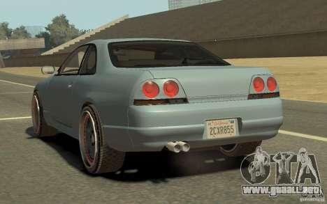 Nissan Skyline GT-R V-Spec 1997 para GTA 4 left