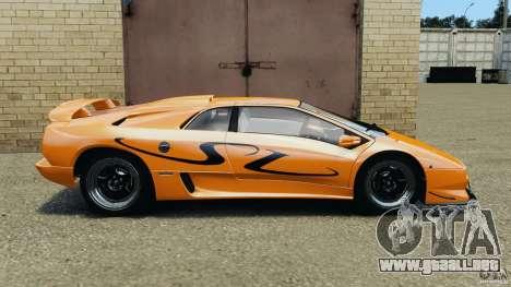Lamborghini Diablo SV 1997 v4.0 [EPM] para GTA 4 left