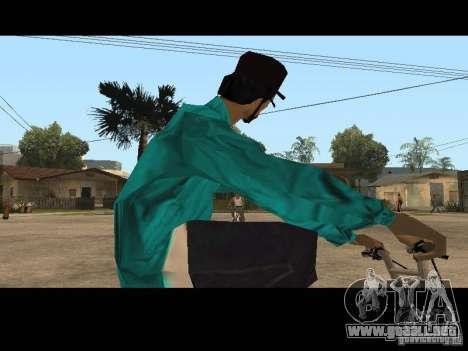 Varrio Los Aztecas para GTA San Andreas segunda pantalla