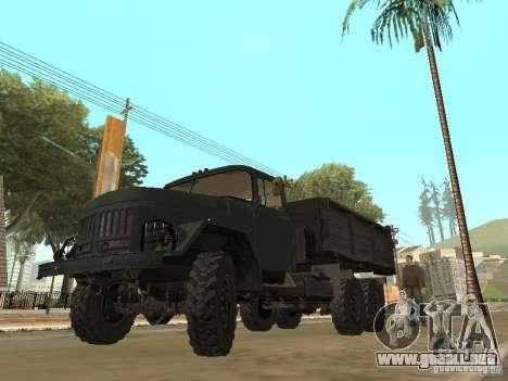 ZIL 131 camión para GTA San Andreas
