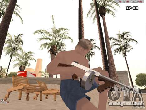Woody Weapons Pack para GTA San Andreas tercera pantalla