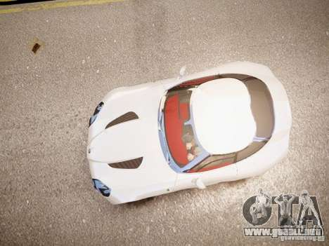 Alfa Romeo TZ3 Stradale Zagato para GTA 4 vista hacia atrás