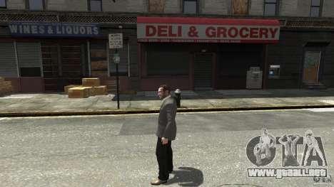 Jeans negros para GTA 4 segundos de pantalla