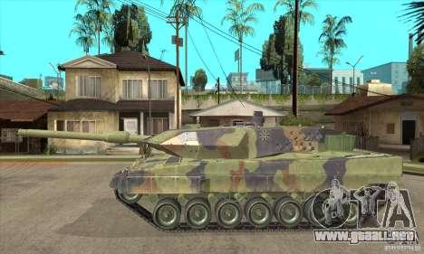 Leopard 2 A6 para GTA San Andreas left