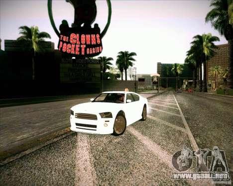 GTA 4 TBoGT de Buffalo para la visión correcta GTA San Andreas
