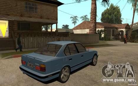 BMW E34 535i 1994 para la visión correcta GTA San Andreas