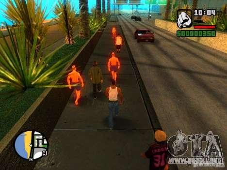 Texturas de East Beach para GTA San Andreas sucesivamente de pantalla