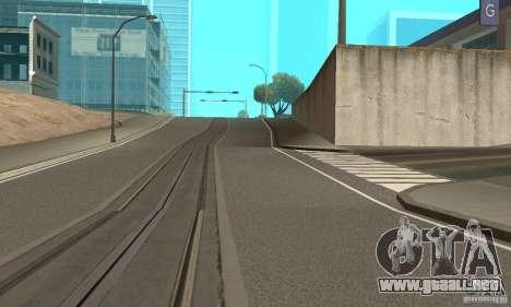 New Streets v2 para GTA San Andreas segunda pantalla