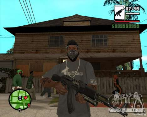 AK47 with GP-30 para GTA San Andreas