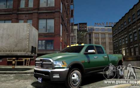 Dodge Ram 3500 Stock Final para GTA 4 left