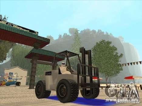 Forklift extreem v2 para la visión correcta GTA San Andreas