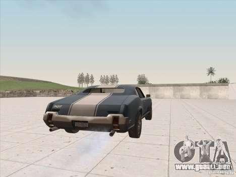 Sabre HD para GTA San Andreas left
