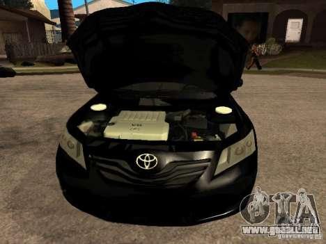 Toyota Camry 2010 para la visión correcta GTA San Andreas