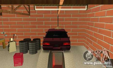 Johnsons Business (Johnsons Auto Service) para GTA San Andreas tercera pantalla