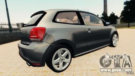 Volkswagen Polo v2.0 para GTA 4 visión correcta