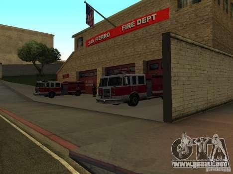 Firehouse vibrante en SF para GTA San Andreas tercera pantalla