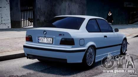 BMW M3 e36 para GTA 4 vista superior