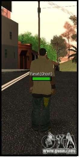 New Vagos [lsv2] para GTA San Andreas sucesivamente de pantalla