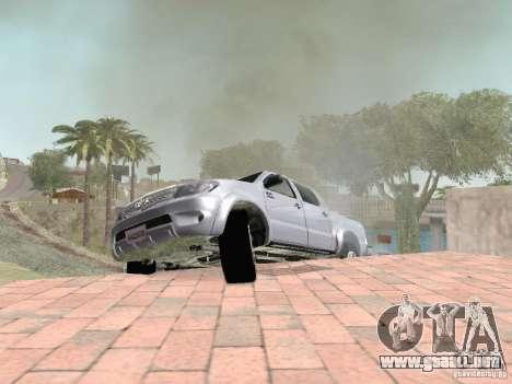 Toyota Hilux para la vista superior GTA San Andreas