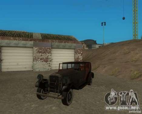 Cadillac BP para GTA San Andreas left