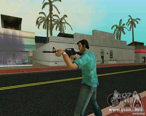 M4A1 para GTA Vice City sucesivamente de pantalla
