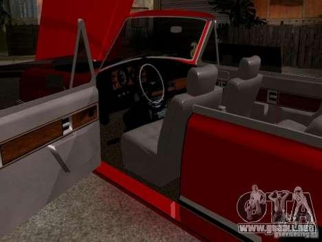 ZIL 41044 Phaeton para GTA San Andreas vista hacia atrás
