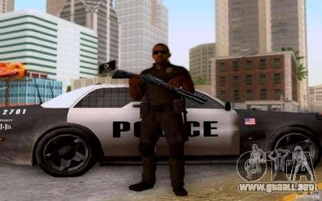 Un oficial de policía de bacalao: BO2 para GTA San Andreas