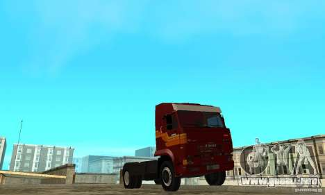 KAMAZ 5460 piel 2 para GTA San Andreas