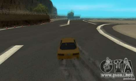 Drift City para GTA San Andreas quinta pantalla
