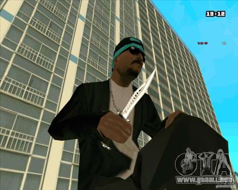 Chrome Weapon Pack para GTA San Andreas séptima pantalla