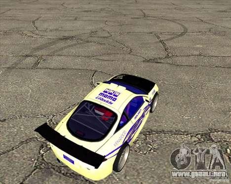 Mitsubishi Eclipse street tuning para GTA San Andreas vista posterior izquierda