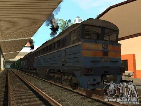 Modificación del ferrocarril III para GTA San Andreas sucesivamente de pantalla