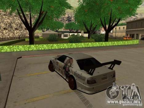 Toyota Chaser JZX100 Tuning by TCW para GTA San Andreas left