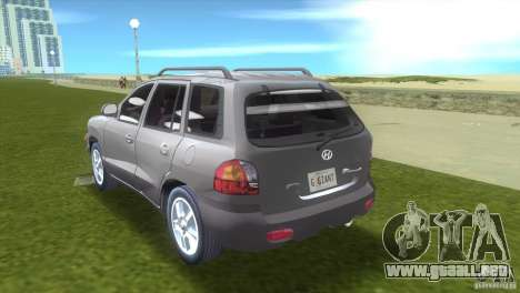 Hyundai Sante Fe para GTA Vice City left