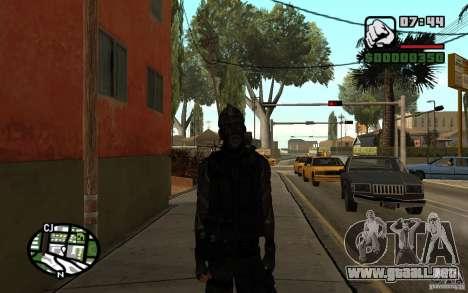 Blackwatch del prototipo para GTA San Andreas segunda pantalla