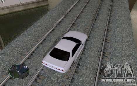Rieles rusos para GTA San Andreas novena de pantalla