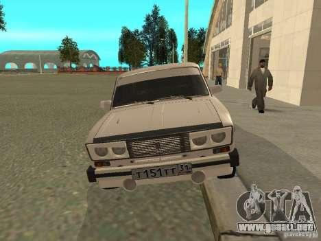 Estilo del oeste 2106 VAZ para GTA San Andreas left
