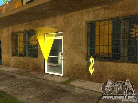 Negocio Cj v2.0 para GTA San Andreas tercera pantalla