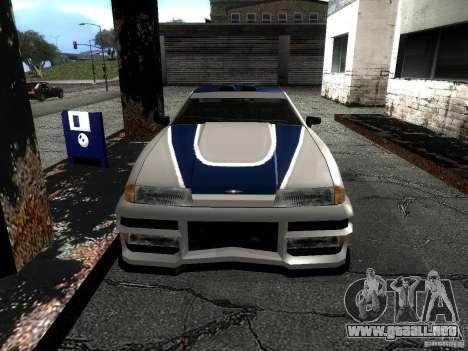 Vinilo con el BMW M3 GTR en Most Wanted para la visión correcta GTA San Andreas
