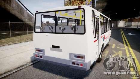 SURCO 4234 para GTA 4 Vista posterior izquierda