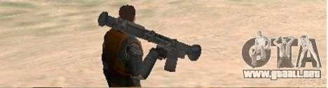 Half-Life weapon pack para GTA San Andreas tercera pantalla