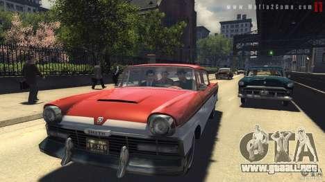 Imágenes de arranque en el estilo de una Mafia I para GTA San Andreas sucesivamente de pantalla