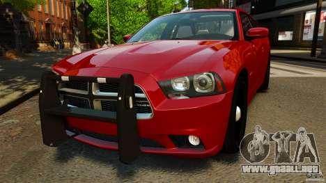 Dodge Charger RT Max FBI 2011 [ELS] para GTA 4