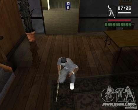 Kalash de METRO 2033 para GTA San Andreas segunda pantalla