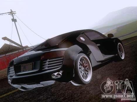 Audi R8 Hamann para las ruedas de GTA San Andreas