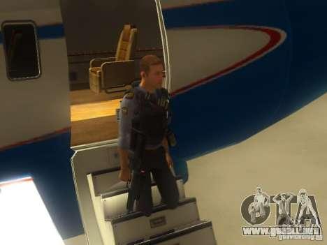Adder OTS-101 para GTA San Andreas quinta pantalla