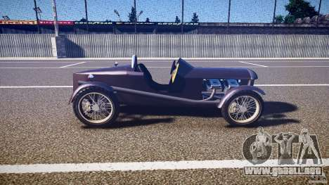 Vintage race car para GTA 4 vista interior