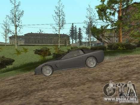 Chita de GTA 4 para GTA San Andreas vista posterior izquierda